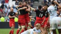 Saracens claim Champions Cup as final falls flat