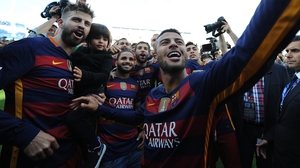 Gerard Pique (L): 'This is a winning team, one that can stand up and be counted.'