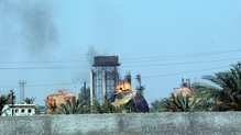 State-run cooking gas factory was attacked by IS militants
