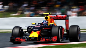 Max Verstappen was fastest at the practice session of the Azerbaijan GP