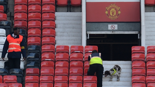 The fixture at Old Trafford has been rearranged after the fake bomb scare