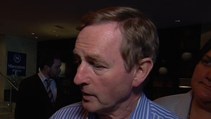 """Enda Kenny said the party was in """"real listening mode"""" atFine Gael'spost-election meeting"""