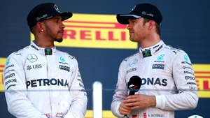 Lewis Hamilton and Nico Rosberg clashed again