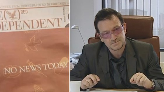 Bono Edits London Independent (2006)