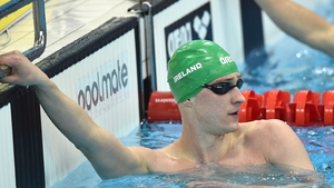 Shane Ryan will swim in lane eight in the final