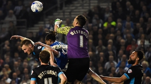 Keiren Westwood was in fine form at the Amex