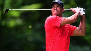 Tiger Woods is hoping to be back in action in October