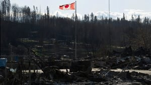 90,000 people were forced to evacuate Fort McMurray two weeks ago