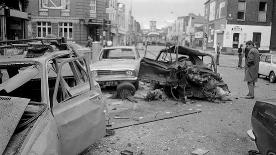 Aftermath of Dublin Bombings