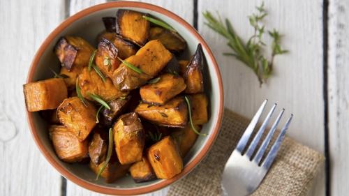 Delicious sweet potatoes.