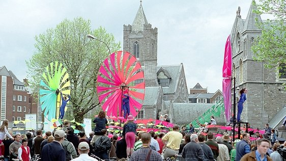 St Patrick's Day Parade in May 2001