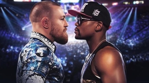 Floyd Mayweather has challenged Conor McGregor to step up to the plate and agree a fight