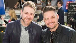 They're waffly versatile. Brian McFadden and Keith Duffy