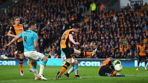 Andy Robertson's calamitous own goal put Derby 2-0 up