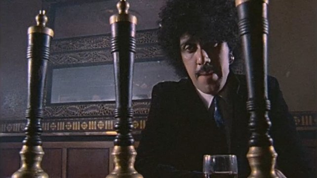 Phil Lynott in The Long Hall Pub (1982)