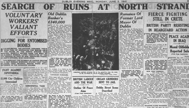 North Strand Bombing