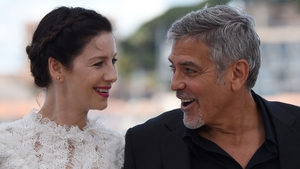 Caitriona Balfe and George Clooney star in Money Monster - in cinemas from May 27