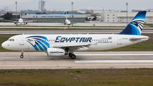 The Airbus A320 was en route from Paris to Cairo when it disappeared