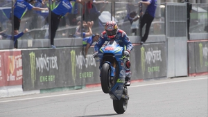 Maverick Vinales during the MotoGp of France