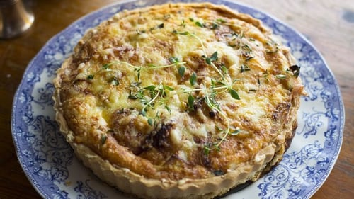 Cheese & Onion Tart