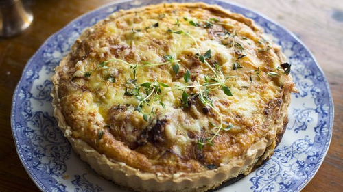 A simple and tasty tart.
