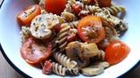 Recipe: Pasta Salad with Chorizo and Blue Cheese