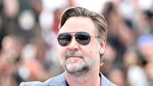 Russell Crowe for The Late Late Show
