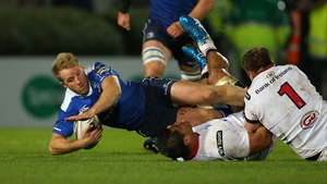 Luke Fitzgerald starts on the wing for Leinster
