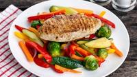 Chicken & Veggies: Janice's Thursday DIY Lunch