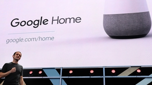 Google's Mario Queiroz unveils the new Home device