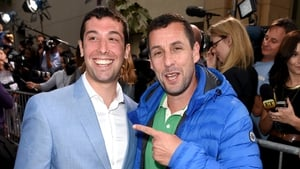 New BFFs - Max Kessler and Adam Sandler