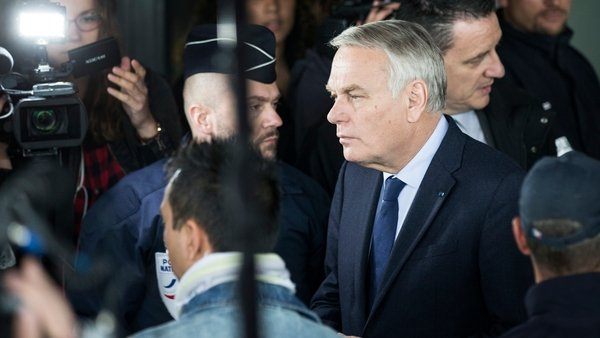 French Foreign Minister Jean-Marc Ayrault said all possibilities are being looked at