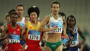 Sonia O'Sullivan is a former World Champion an Olympic silver medallist