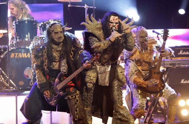 Lordi 'Late Late Show'