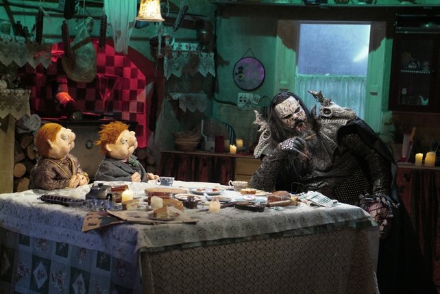 Lordi on Podge and Rodge (2009)