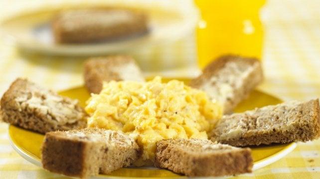 A perfect weekend breakfast.
