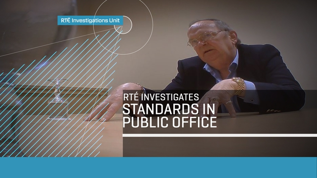 RTÉ Investigates - Standards in Public Office