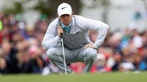 Rory McIlroy is well-placed after two rounds at the Irish Open