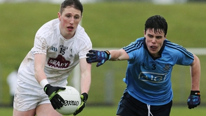 Neil Flynn (L) is crucial to Kildare's hopes on