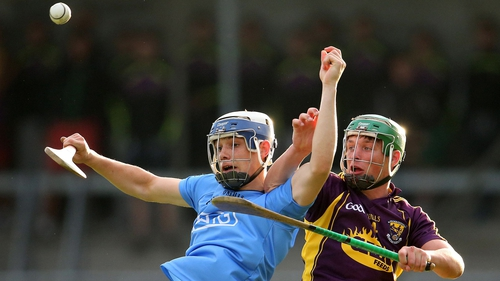 Dublin's Eoghan O'Donnell and Conor McDonald of Wexford will renew acquaintance tonight