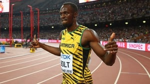 Usain Bolt has suffered an injury scare ahead of the Olympics