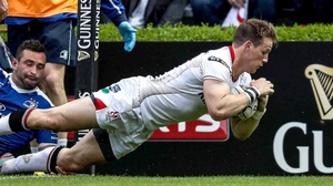 A toe injury means Ulster's Craig Gilroy is unavailable for selection