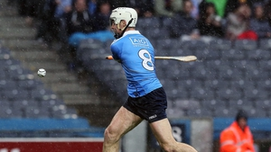 Darragh O'Connell scores a goal for Dublin