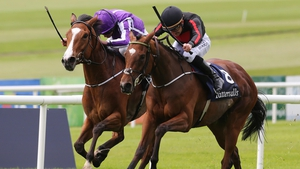 Jet Setting winning the 1,000 Guineas in May