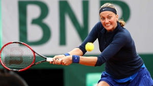 Petra Kvitova had a scare in the French Open first round