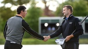 Rory McIlroy saw off the challenge of Russell Knox at the Irish Open