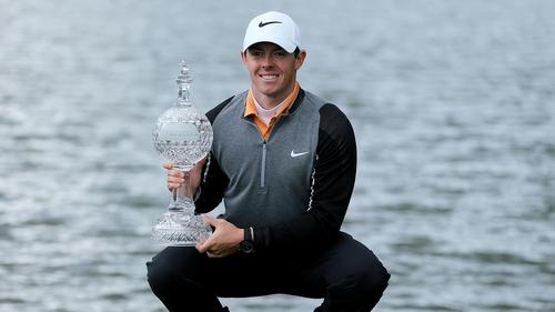 Rory McIlroy has now won 13 European Tour titles