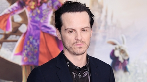 Andrew Scott stars in the upcoming Alice Through the Looking Glass