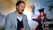 Alice Through The Looking Glass director James Bobin chats to TEN's Sinead Brennan