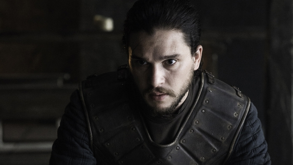 "Kit Harington on his character, Jon Snow - ""I actually think secretly deep down, he's a bit of a psychopath, weirdly. He looks for violence"""